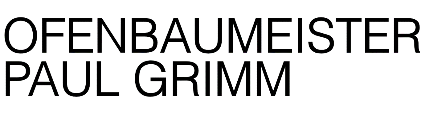 Ofenbaumeister Paul Grimm